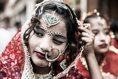 Maha Shivaratri-DSC_8719 (thomschphotography3) Tags: asia india varanasi benares mahashivaratri religion hindu hinduism festival parade children girl portrait streetphotography