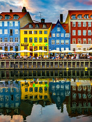 Hongkong (Stefan Kruse) Tags: cityscape travel copenhagen nyhavn city colours colorful reflection houses harbour hongkong architecture københavn olympus