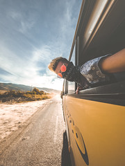 Routes Boliviennes (ThibaultPoriel) Tags: route bolivie bolivia transport wideangle gh5 panasonic outdoors light sun colors glasses wild bus travel southamerica