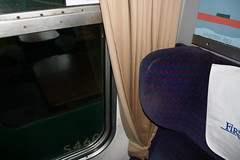 Mk2 BSO S9392 Int (46) (Transrail) Tags: mk2 coach carriage interior passenger train railway britishrail seat window carpet guardcompartment brakestandardopen bso