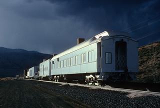 Westbound wreck train