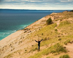 OH, what a feeling . . . (Dr. Farnsworth) Tags: nationallakeshore sand dune manitoupassage manitouisland lakemichigan sleepingbear mi michigan fall october2016