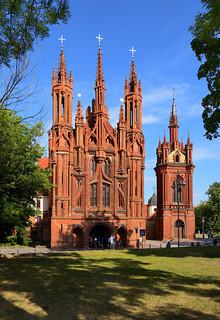 Vilnius / Church of St. Anne / Vilniaus Šv. Onos bažnyčia