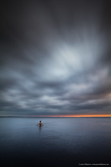 Jason Tiilikainen - Unwinding (Jason Tiilikainen) Tags: green lake finland evening clouds cloudy swim swimming nikon d7100 sigma suomi joensuu sunset water calm ngc
