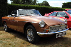 MGB (Andrew Mansfield - Sheffield UK) Tags: mgb mg mru603w roadster cars car classiccar classiccarshow transport vehicle uk england yorkshire southyorkshire brodsworthhall