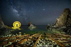 _A750784-Editar1-copia-2 (ismaguell) Tags: largaexposicion longexposure almería nocturnas night nightscape landscape lightpainting
