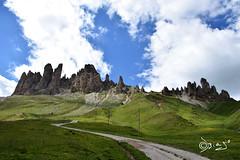 Denti di Terrarossa - Italy (Biagio ( Ricordi )) Tags: dolomiti valdifassa trentino italy montagna paesaggio nuvole terrarossa alpeditires