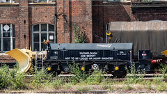 ZZA 965577 (JOHN BRACE) Tags: zza pb600 patrol snowplough adb 965577 mounted ex class 40 bogie seen doncaster