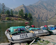 Loaded Up for 8 Days on the Main Salmon (Mountain Visions) Tags: rowing rafting idaho arta salmon pentax