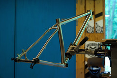 Lynn's Marauder Ti (44 Bikes) Tags: 44bikes custombicycle mountainbike framebuilding marauder titanium