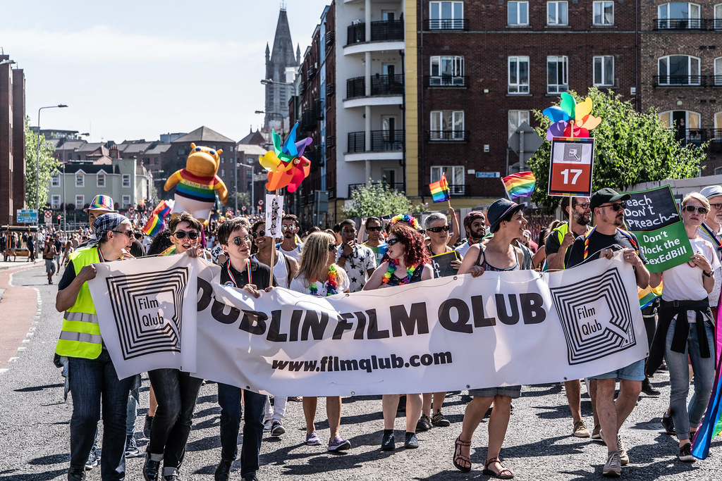 ABOUT SIXTY THOUSAND TOOK PART IN THE DUBLIN LGBTI+ PARADE TODAY[ SATURDAY 30 JUNE 2018] X-100100