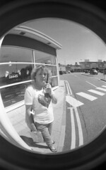 img015 (welshdude1991) Tags: lomography bw cats fisheye ilford 35mmfilm pov pointofview cars