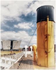 Titanic Quarter, Belfast - Northern Ireland (Livio Saule) Tags: titanic belfast ireland museum museo boat nave travel viaggio