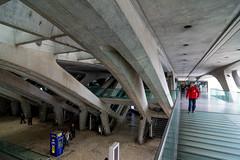 _DSC3279 (durr-architect) Tags: oriente station lisbon portugal santiago calatrava rough concrete steel structure space glass floor train metro arches beams modern architecture expo platforms bridge