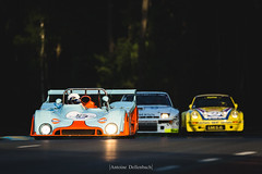Gulf Mirage M6 + Porsche 924 GTR + Porsche 911 Carrera RSR 3.0 (antoinedellenbach.com) Tags: worldcars car race racing circuit france motorsport eos automotive automobiles automobile racecar sport course lightroom coche photography photographie vintage historic peterauto auto canon legend lemans lemansclassic 2018 5d 5d3 5dmarkiii sigma 150600 lmc light atmosphere gulf mirage m6 porsche 924 gtr 911 carrera rsr sunset