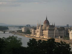 building of Parliament (VERUSHKA4) Tags: hccity hungary europe canon budapest cityscape dunabe river quai architecture beautiful cupolas historic vue view travel bridge verdure summer july capital ciel ville art house astoundingimage