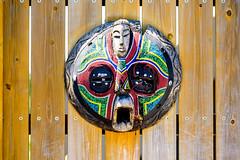African Mask in Yokohama Zoological Gardens : アフリカの仮面(よこはま動物園ズーラシア) (Dakiny) Tags: 2018 summer june japan kanagawa yokohama asahiward park city street outdoor zoo yokohamazoologicalgardens zoorasia art sculpture mask africanmask nikon d750 sigma apo 70200mm f28 ex hsm apo70200mmf28dexhsm sigmaapo70200mmf28dexhsm nikonclubit