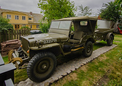 Vintage US Army Jeep in Viken (frankmh) Tags: car jeep usarmy vintage classic viken skåne sweden