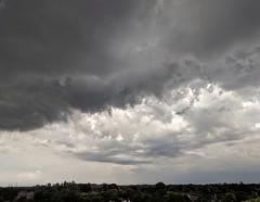 Storm might be coming....(Explored) (jmaxtours) Tags: cloud storm rain clouds sky ontario toronto etobicoke