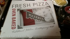 Yogi's Pizza Too - Conway, Missouri (Adventurer Dustin Holmes) Tags: box package packaging pizza large food 2018 pizzeria cardboardbox freshpizza ovenbaked blurry