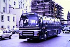 Slide 119-46 (Steve Guess) Tags: cheltenham gloucestershire england gb uk bus coach plaxton lcbs green line london country npa231w castleways leyland leopard pl31
