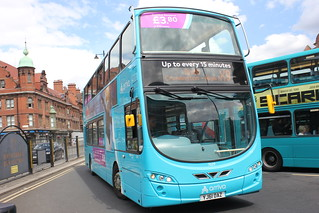 ARRIVA north east 7629 YJ61 OAZ