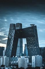 In Focus (waynehwx) Tags: architecture beijing rooftop urbex
