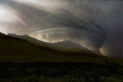 From Iceland. (Tóta. 27.12.1964.) Tags: natureiceland mountain clouds storm grass sky iceland ísland