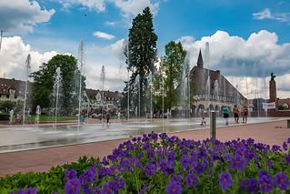 Freudenstadt - Springbrunnen