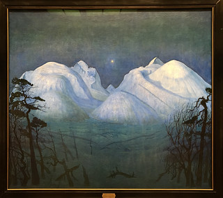 Winter Night in the Mountains, 1914