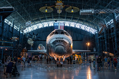 Space Shuttle Discovery (ChristianMandel) Tags: ov103 spaceshuttlediscovery stevenfudvarhazycenter smithsonianinstitution nationalairandspacemuseum usa virginia sonya7iii ilce7iii sonnartfe35mmf28za