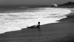 Waiting for the Pacific _ bw (Joe Josephs: 3,166,284 views - thank you) Tags: beach beaches california coastal landscapephotography pacificcoasthighway pacificocean travel travelphotography westcoast californiabeach pacificoceanshoreline surf waves swimmer summer vacation bw blackandwhite blackandwhitephotography monochrome