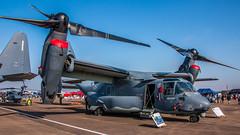 Static Osprey (Tony Howsham) Tags: canon eos70d sigma 18250 royal international air tattoo airshow raffairford static usaf boeing cv22b osprey