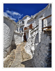 White Village (Jocelyn777) Tags: houses buildings streets alley whitehouses whitevillages pueblosblancos alpujarras capileira andalucia spain travel towns villages historictowns