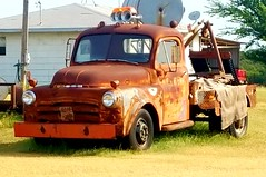 old tow truck (mark1973r) Tags: