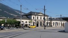 RhB Train Chur - Arosa (Kecko) Tags: 2018 kecko swiss switzerland schweiz suisse svizzera graubünden graubuenden gr chur railway railroad bahn eisenbahn bahnhof station train zug stadler allegra abe812 3508 richardcoray rhb europe rhätischebahn viafierretica rhaetianrailway arosabahn video swissvideo geotagged geo:lat=46852490 geo:lon=9528930
