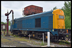 No 20189 17th June 2018 Midland Railway Diesel Gala (Ian Sharman 1963) Tags: no 20189 17th june 2018 midland railway diesel gala class 20 chopper engine rail railways train trains loco locomotive passenger heritage line riddings swanwick junction butterley hammersmith mr