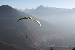 La belle vue !! (SMartine ♫♫) Tags: martinesodagui parapente alpes hautesavoie