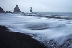 Dyrholaey Fingers (Raymond.Ling.43) Tags: dyrholaeyfingers autumn oct iceland backsandbeach sea wave vik cannon 6d