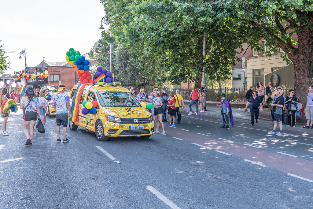 ABOUT SIXTY THOUSAND TOOK PART IN THE DUBLIN LGBTI+ PARADE TODAY[ SATURDAY 30 JUNE 2018] X-100113