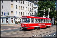 774-2018-06-30-2-Halberstädter Straße (steffenhege) Tags: magdeburg mvb strasenbahn streetcar tram tramway arbeitswagen arbeitstriebwagen fahrschulwagen t4d ckd 774