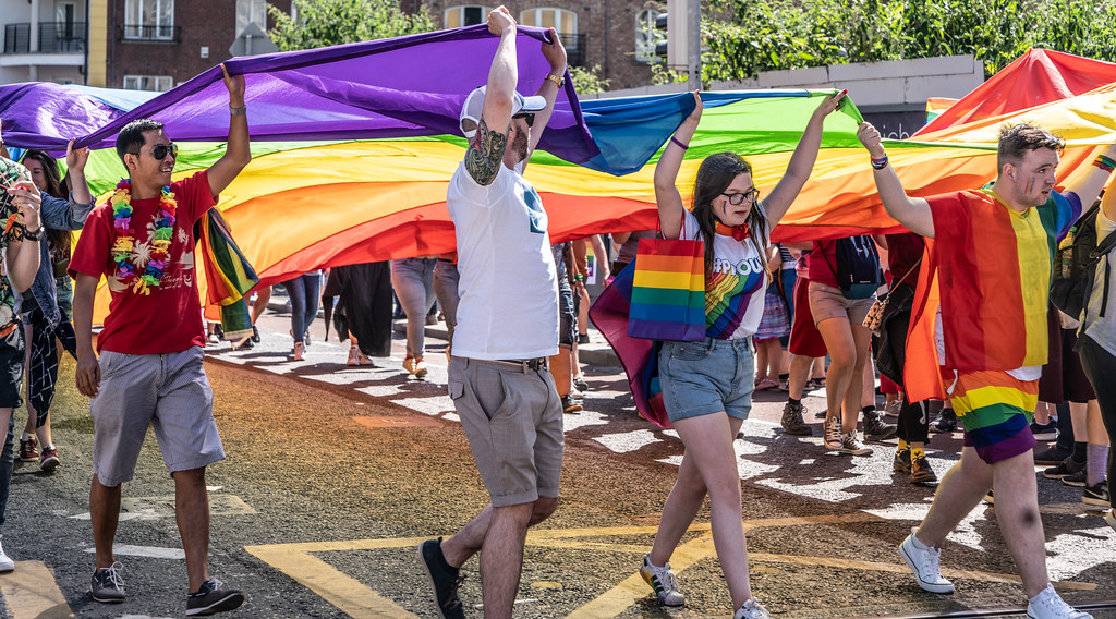 ABOUT SIXTY THOUSAND TOOK PART IN THE DUBLIN LGBTI+ PARADE TODAY[ SATURDAY 30 JUNE 2018] X-100042