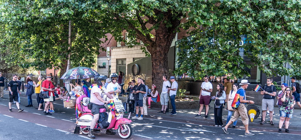 ABOUT SIXTY THOUSAND TOOK PART IN THE DUBLIN LGBTI+ PARADE TODAY[ SATURDAY 30 JUNE 2018] X-100115