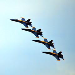 Blue Angels 22 June 2018 0540Ri sq (edgarandron - Busy!) Tags: aircraft jets blueangels navy usnavy unitedstatesnavy