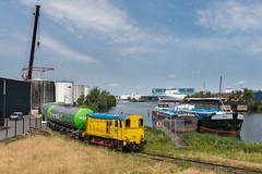 2018.07.06_12325_Amsterdam Westhaven_RTB/Lineas/V-rail 691 (rcbrug) Tags: rfo bakkie hippel 5600 691 ooc wascosa pannonia bediening ketelwagens haven nwb mainhaven amsterdamwesthaven