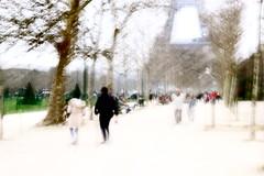 Parigi: Parc du Champ-de-Mars e la Tour Eiffel (margot 52) Tags: mosso parigi paris francia france champdemars toureiffel flou