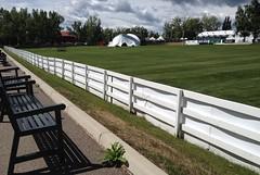Happy Fence Friday Folks (Mr. Happy Face - Peace :)) Tags: fence fencefriday yyc cowtown calgary alberta canada sprucemeadows summer stampedeweek sky clouds sun art2018