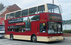 Go North East: 6941 PN02XBU Volvo B7TL/Plaxton President (emdjt42) Tags: gonortheast 6941 pn02xbu volvo eyms plaxton sunderland