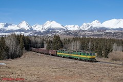 ZSSK Cargo 131 057 (Bradley Morey) Tags: zssk štrba 131 cargo tatra tatras slovakia železnice spoločnosť slovensko trainspotting train mountains view