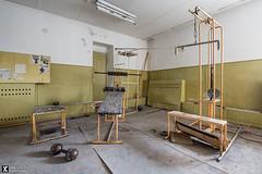 Soviet Gym (AndreJoosse) Tags: urbex urban exploring abandoned derelict soviet gym nikon